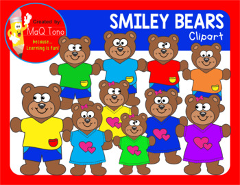 SMILEY BEARS Cliparts