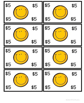 Smiley Face Behavior in Yellow