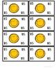 Classroom Play Money Yellow Smiley Faces