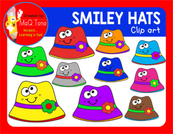 SMILEY HATS CLIPARTS