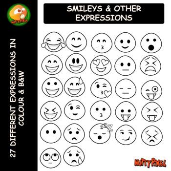 SMILEYS Clip Art