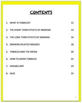 SMOKING, An Interactive Notebook