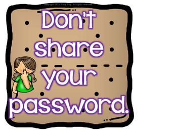 smore ways to be safe online computer bulletin board tpt