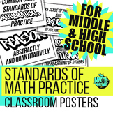SMP Posters for Middle & High School classroom