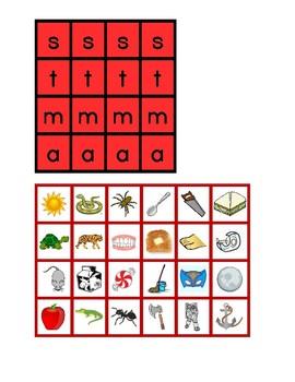 SMTA Phonics Bingo
