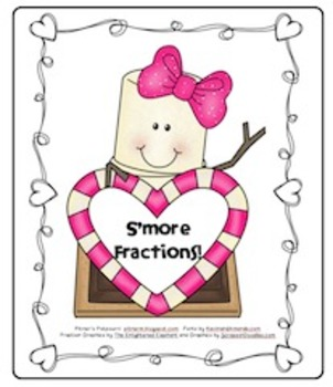 S'More Fractions for Valentines