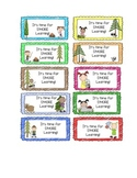 S'More Learning Goodie Bag Tags