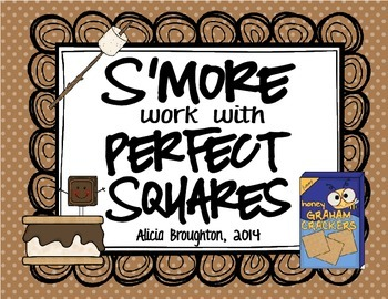 S'More Perfect Squares: Math Center
