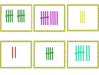 Summer Theme Sort, Tally and Graph Math Center