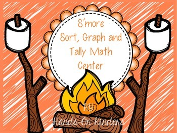 Summer Theme Sort, Tally and Graph Math Center
