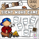 S'More Sight Word Game - Grade Two Dolch word list
