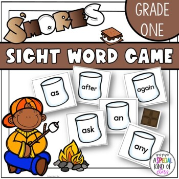 S'More Sight Word Game - Grade One Dolch word list