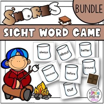 S'Mores Sight Word Games - BUNDLED