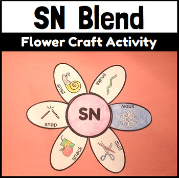 SN Blend Flower Craftivity