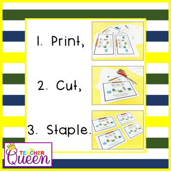 SN- Blend Readers Levels A and D (Printable and Projectable Books)