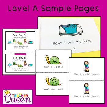 SN- Blend Readers Levels A and D (Printable Books and eBooks)