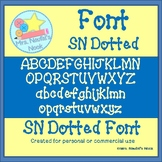 SN Dotted Font