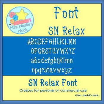 SN Relax Font