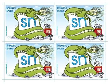 SN (Sneezing Snake) Blend Buddy Card