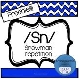 S-Blends - SN repetition snowmen - freebie