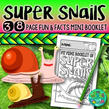 SNAILS! {Fun & facts about terrestrial & aquatic snails & slugs}
