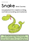 SNAKE Mind Journey/Visualisation for CREATIVE WRITING, CON