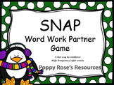 SNAP A Word Work Partner Gane