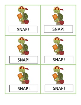 SNAP!  An Activity to Practice Reading Consonant Blends in Closed Syllables