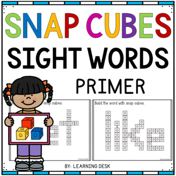 SNAP CUBE SIGHT WORDS ACTIVITIES - PRIMER