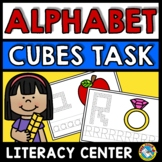 SNAP CUBES ALPHABET WORKSHEETS & ACTIVITY (BEGINNING SOUND