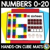 NUMBER SNAP CUBES TASK CARDS CENTER (NUMBER SENSE ACTIVITY KINDERGARTEN)