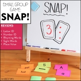 SNAP! Card Game for Number Sense, Sight Words and More!