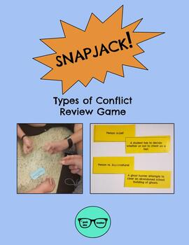 SNAPJACK! Types of Conflict Review Game