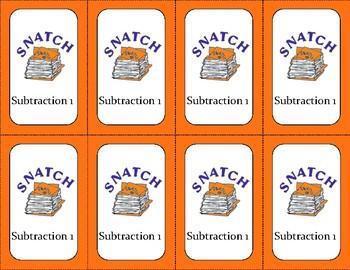 SNATCH Subtraction 1