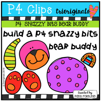 SNAZZY BITS build a BEAR BUDDY (P4 Clips Trioriginals)