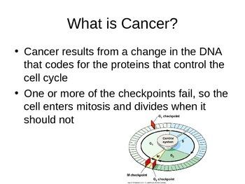 SNC2D Cancer PowerPoint