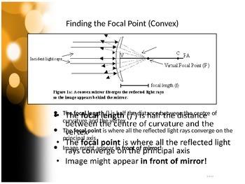 SNC2P - Optics - Curved Mirrors