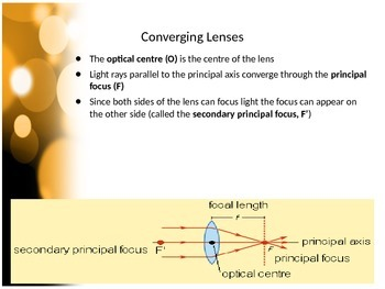 SNC2P - Optics - Lenses