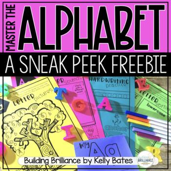 {FREEBIE!} A is for Alphabet - A letter practice unit