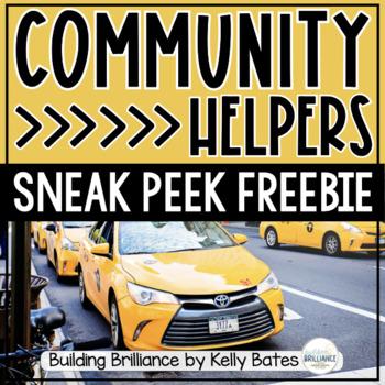 Community Helpers Sneak Peek Freebie