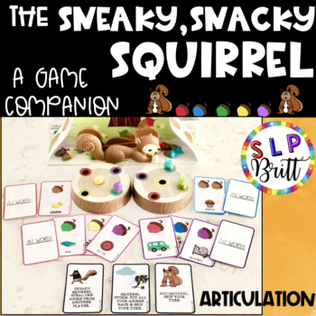 SNEAKY, SNACKY, SQUIRREL - GAME COMPANION, ARTICULATION (SPEECH & LANGUAGE )
