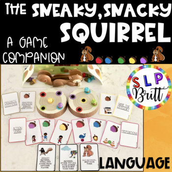 SNEAKY, SNACKY SQUIRREL - GAME COMPANION, LANGUAGE (SPEECH & LANGUAGE)