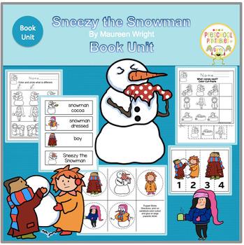 SNEEZY THE SNOWMAN   BOOK UNIT