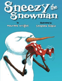 SNEEZY THE SNOWMAN * Maureen Wright * Brand New Paperback Book!