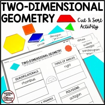 SNIP*SORT*STICK: Two-Dimensional Geometry Cut and Sort Activity