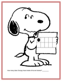 SNOOPY and His Ten Frames