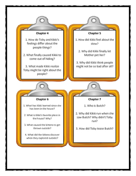 SNOT STEW by Bill Wallace - Discussion Cards