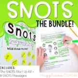 SNOTS Annotating Text and Passages BUNDLE