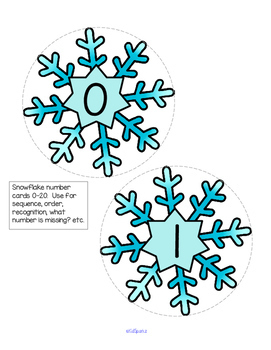 SNOW Theme Unit Centers and Activities for Preschool and Pre-K