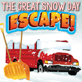SNOW DAY Escape Room (Activities, Trivia & Puzzle Games for Students)